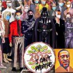 Chris Barker artista recria capa de Sgt Peppers e destaca personalidades que nos deixaram em 2020 2