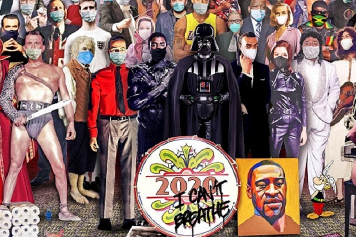 Chris Barker: artista recria capa de Sgt. Pepper's e destaca personalidades que nos deixaram em 2020