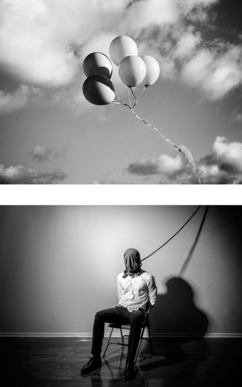 Edward Honaker serie que mostra a angustia de viver com depressao foi criada por fotografo de 21 anos 8