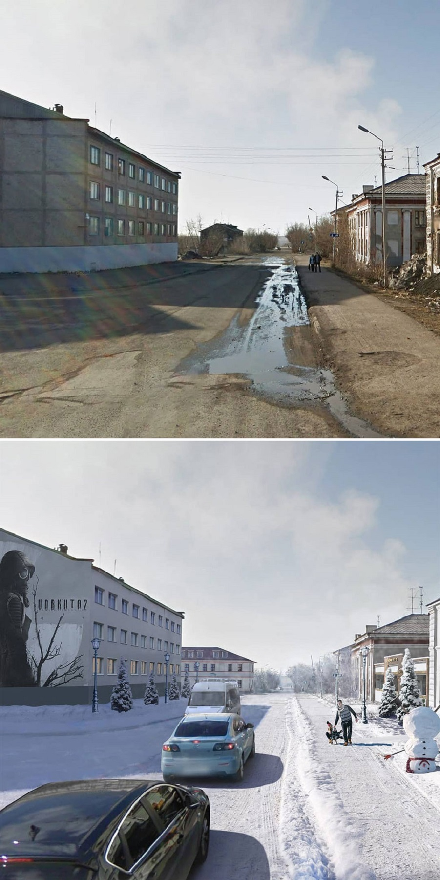 Andrey Goopsa artista mostra com antes e depois como paises pos sovieticos deveriam ser hoje 14