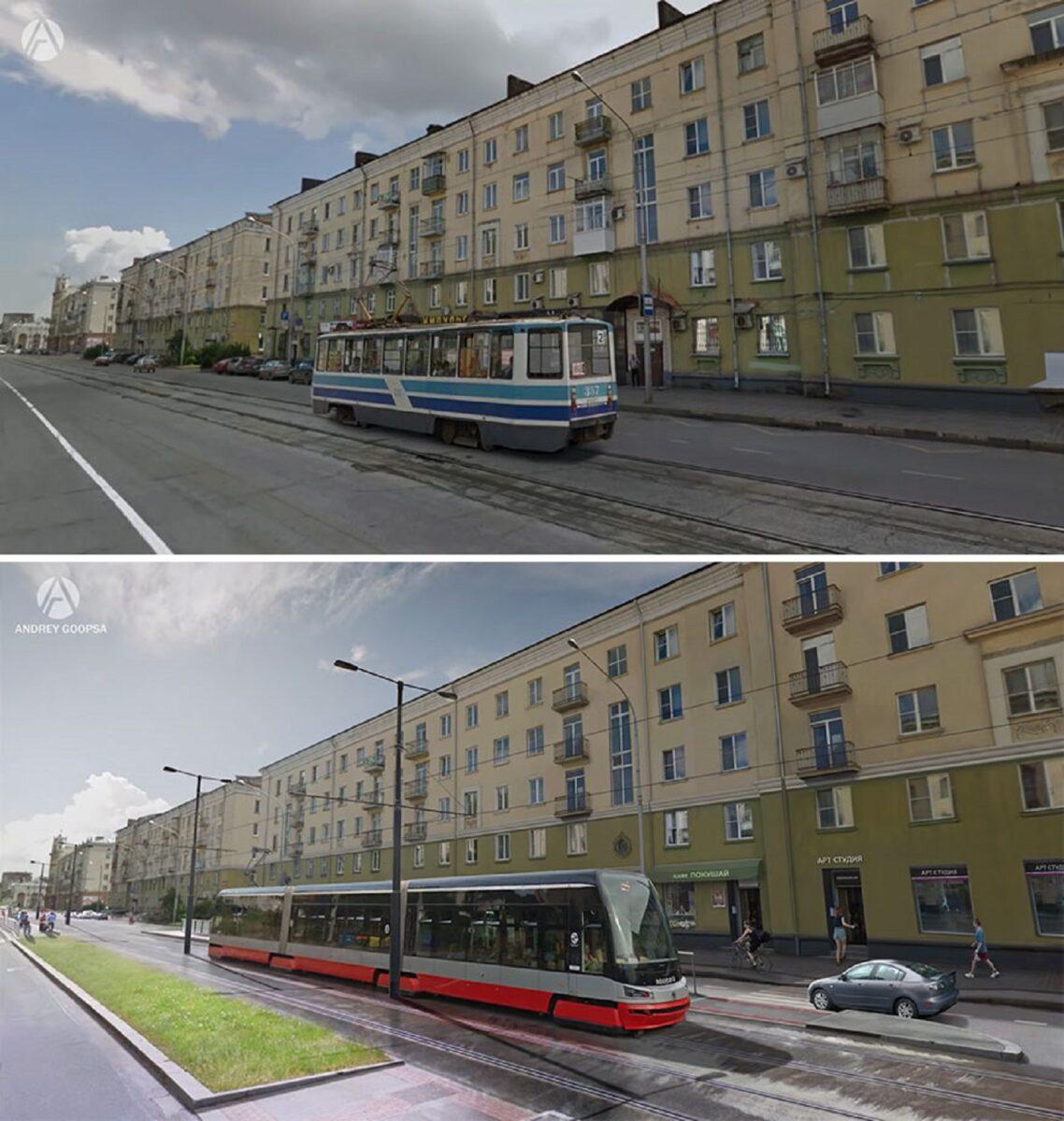 Andrey Goopsa artista mostra com antes e depois como paises pos sovieticos deveriam ser hoje 19