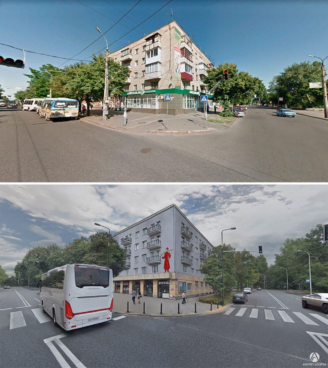 Andrey Goopsa artista mostra com antes e depois como paises pos sovieticos deveriam ser hoje 21