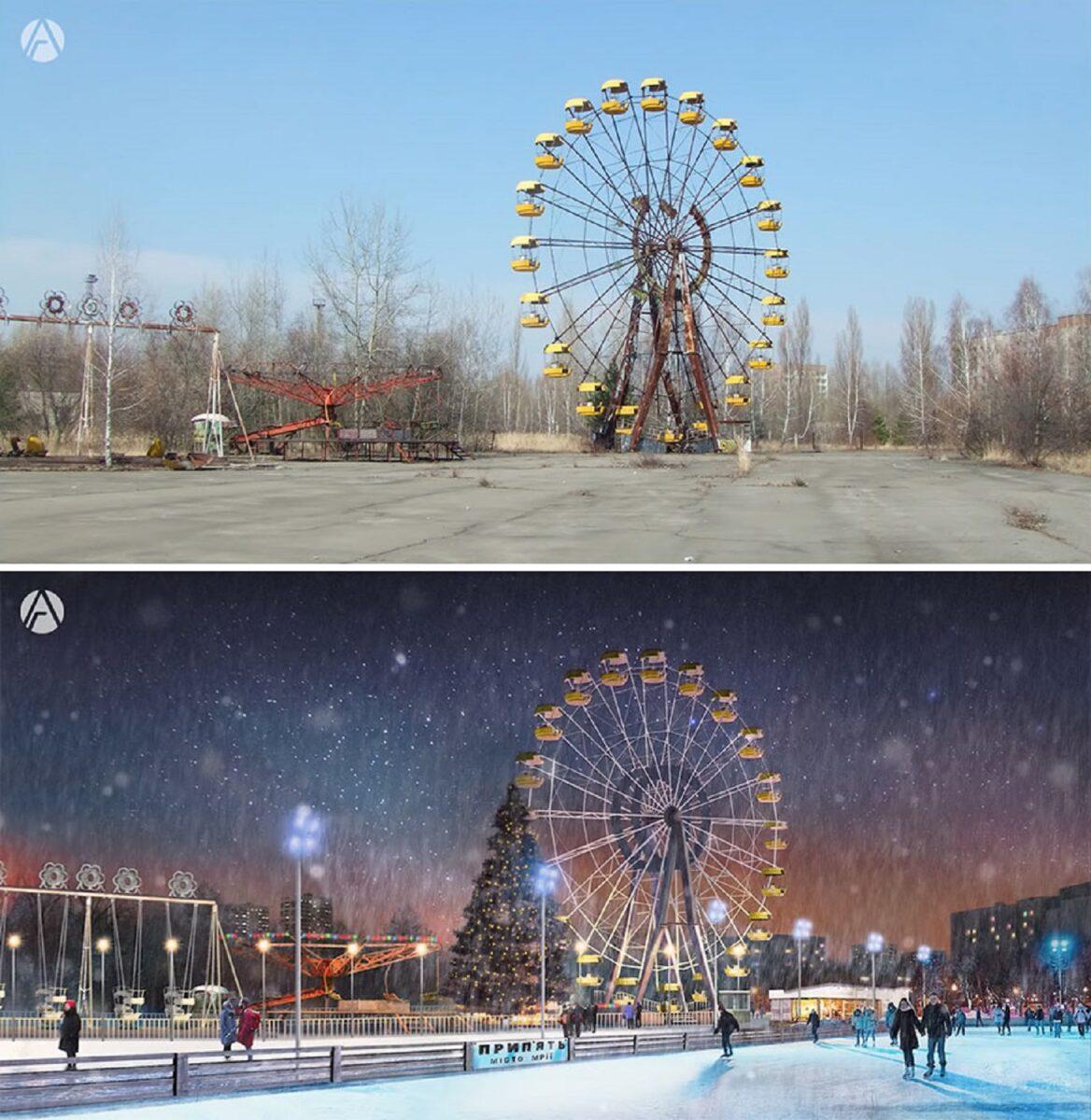 Andrey Goopsa artista mostra com antes e depois como paises pos sovieticos deveriam ser hoje 7