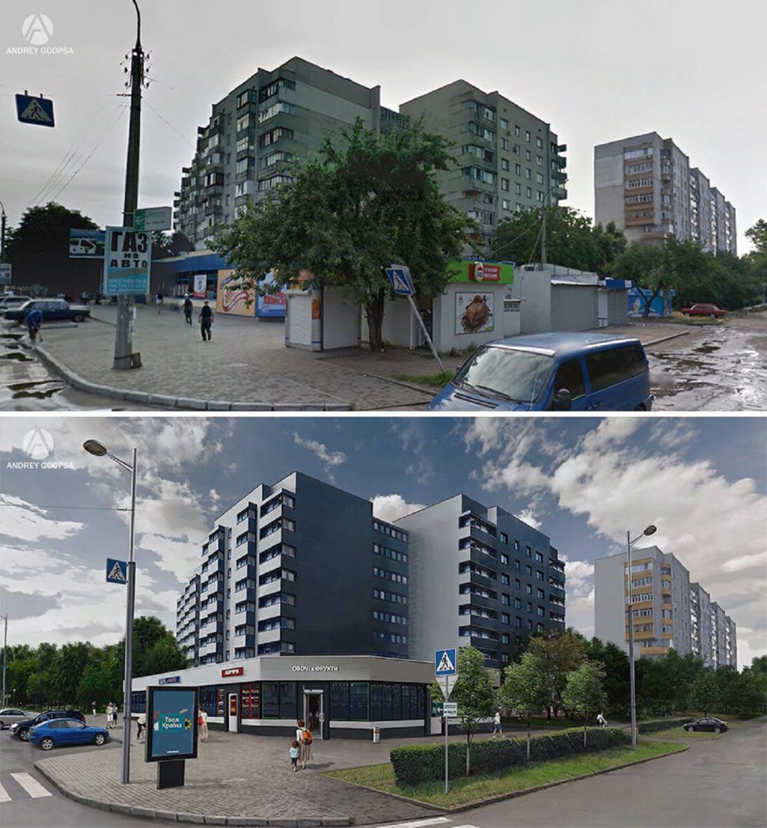 Andrey Goopsa artista mostra com antes e depois como paises pos sovieticos deveriam ser hoje 9