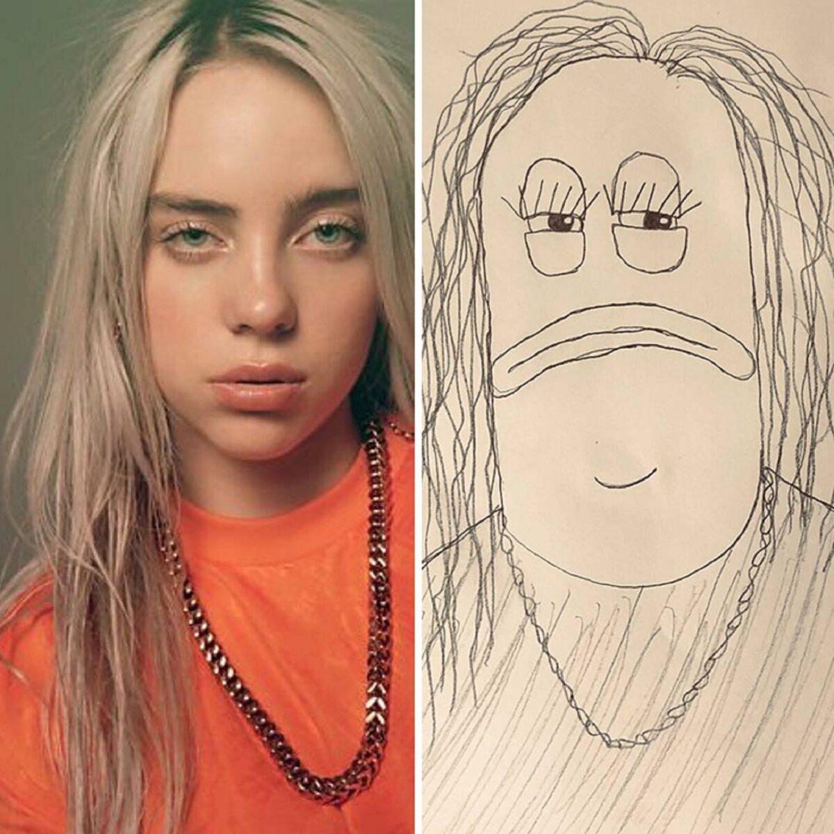 As piores fan art de pessoas famosas 1