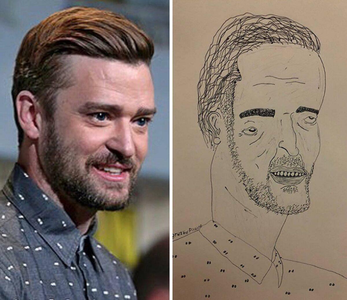 As piores fan art de pessoas famosas 14