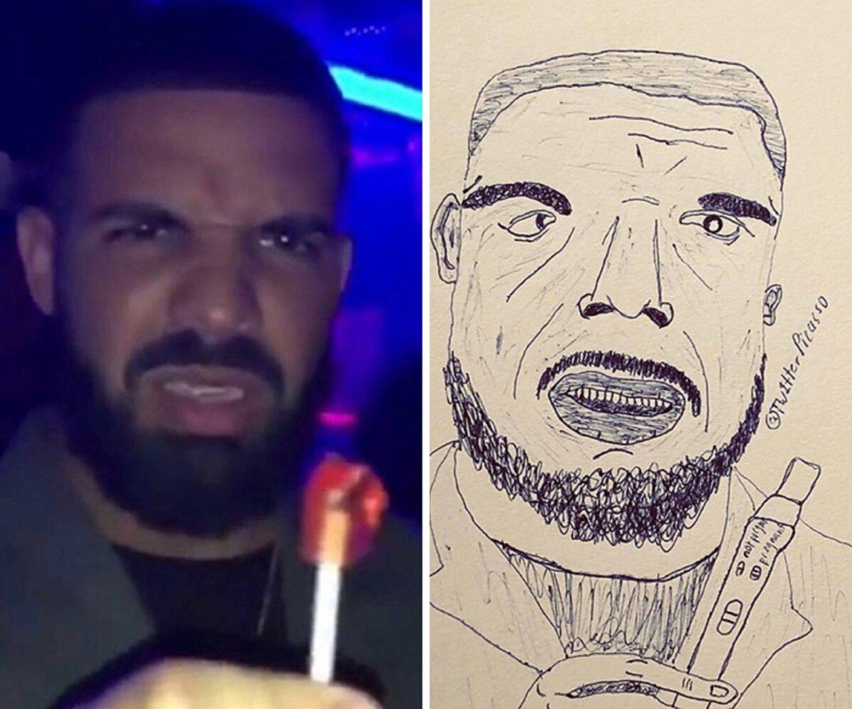 As piores fan art de pessoas famosas 17
