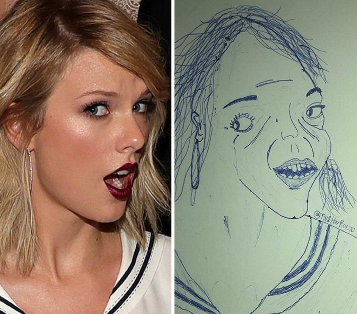 As piores fan art de pessoas famosas 21