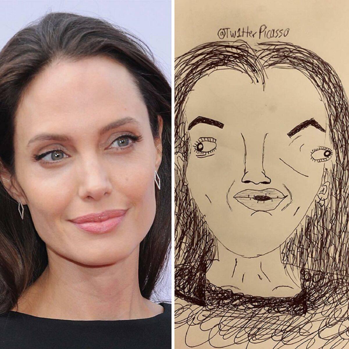 As piores fan art de pessoas famosas 24