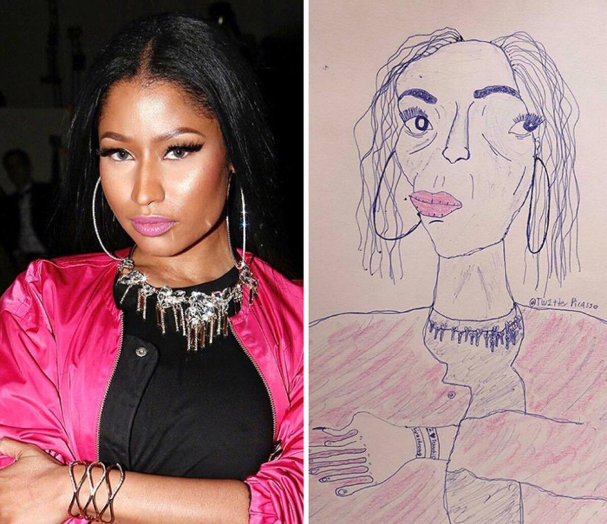 As piores fan art de pessoas famosas 26