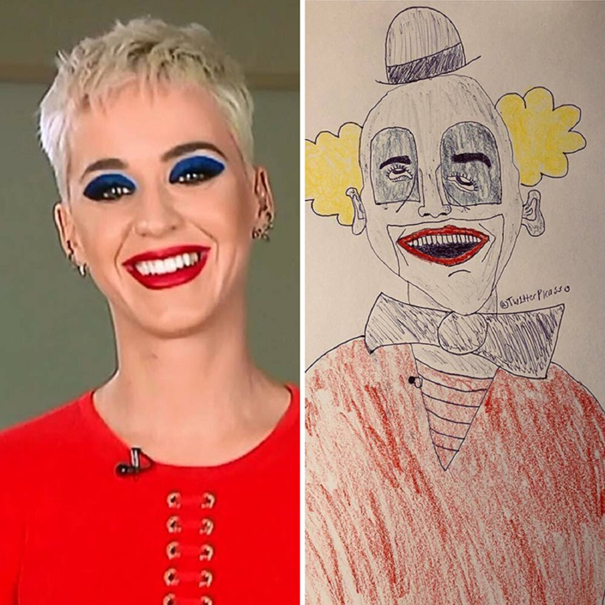 As piores fan art de pessoas famosas 3