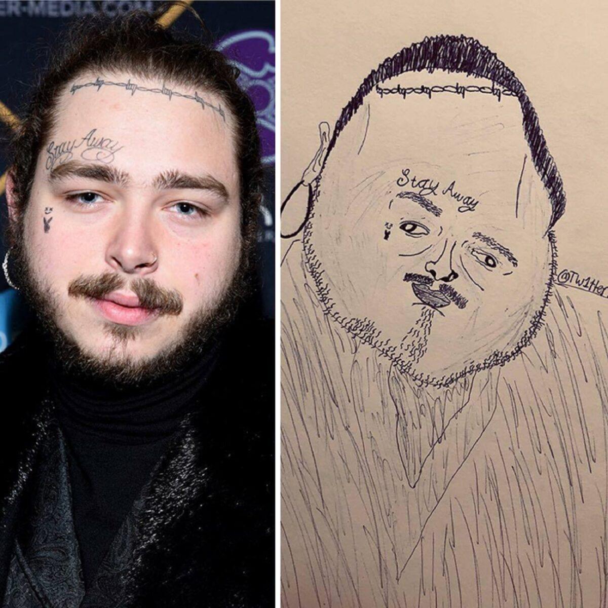 As piores fan art de pessoas famosas 8