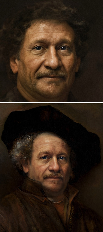 Bas Uterwijk artista mostra como eram essas figuras historicas na vida real 11