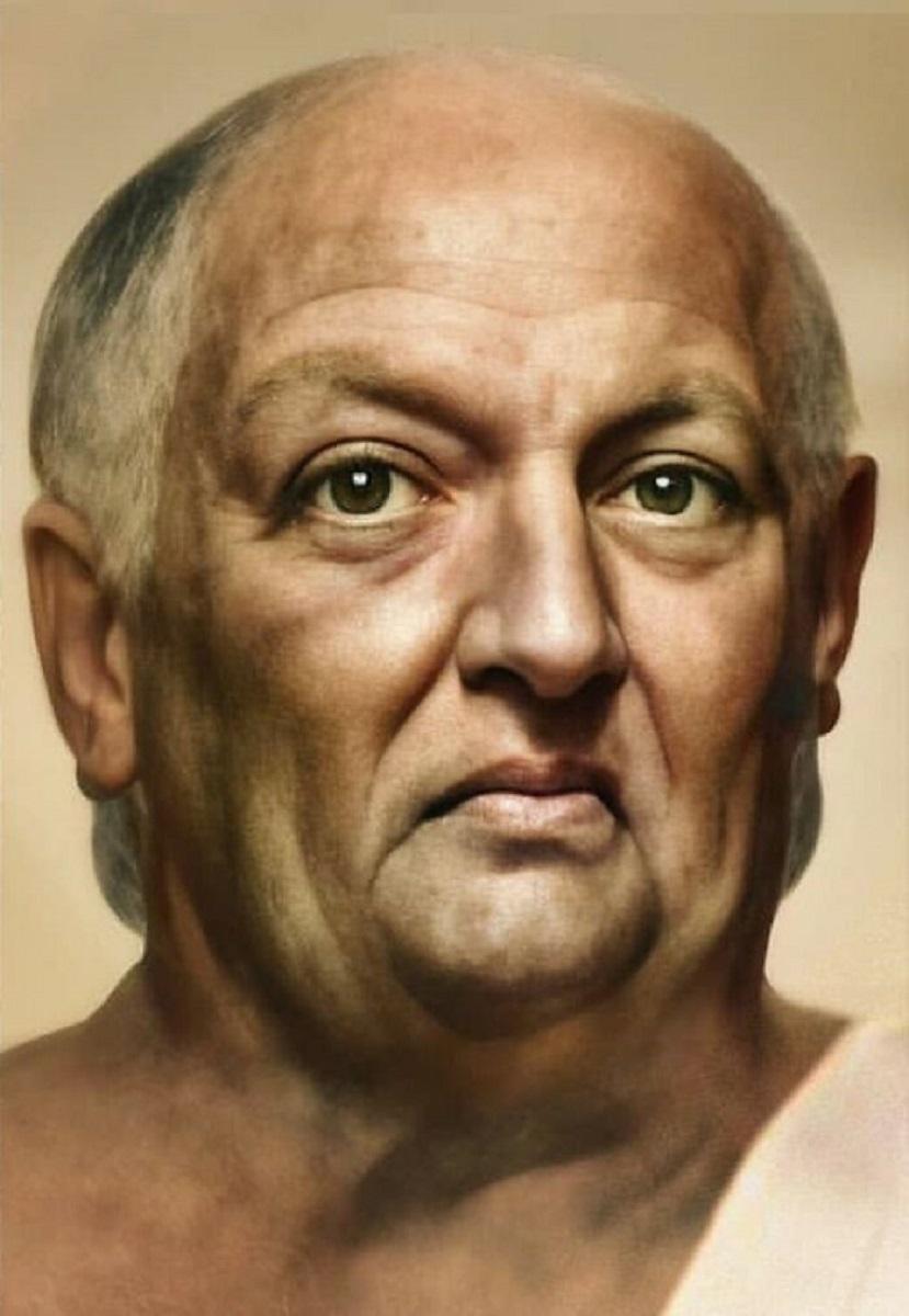 Bas Uterwijk artista mostra como eram essas figuras historicas na vida real 28