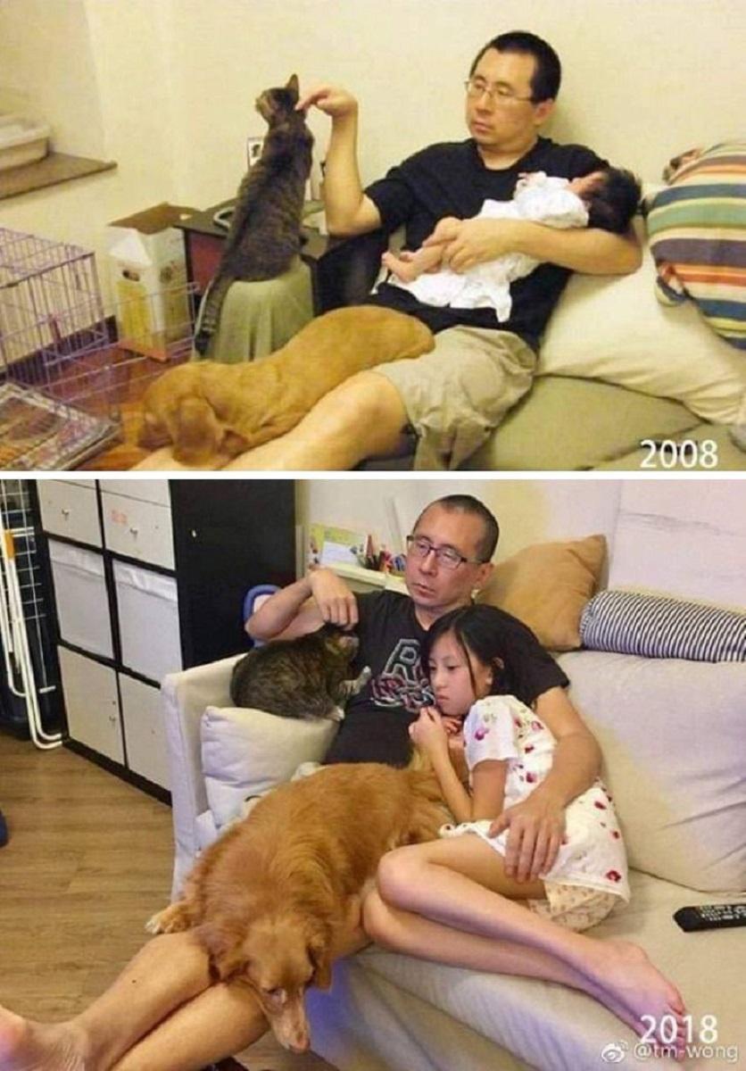 Imagens de antes e depois que mostram que nao devemos temer a passagem do tempo 1