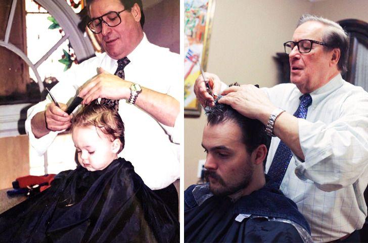 Imagens de antes e depois que mostram que nao devemos temer a passagem do tempo 21