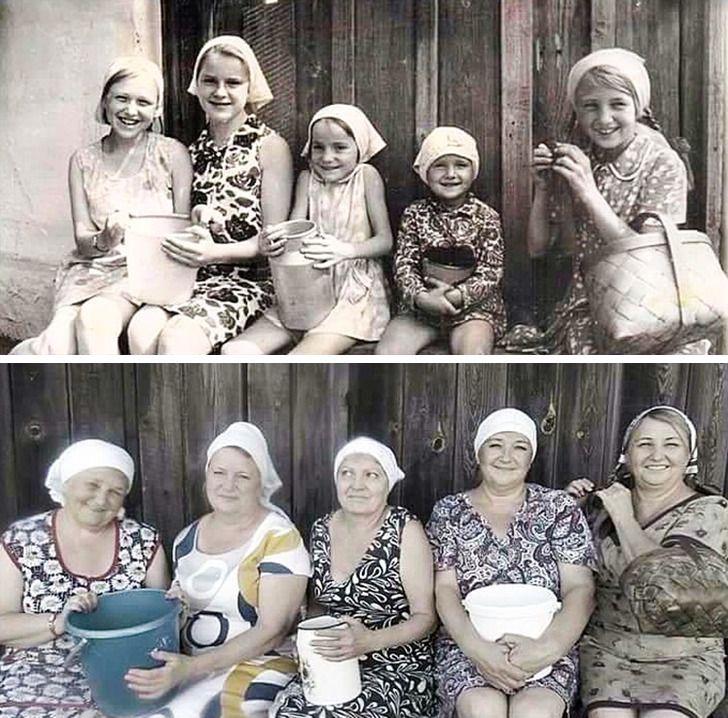 Imagens de antes e depois que mostram que nao devemos temer a passagem do tempo 22