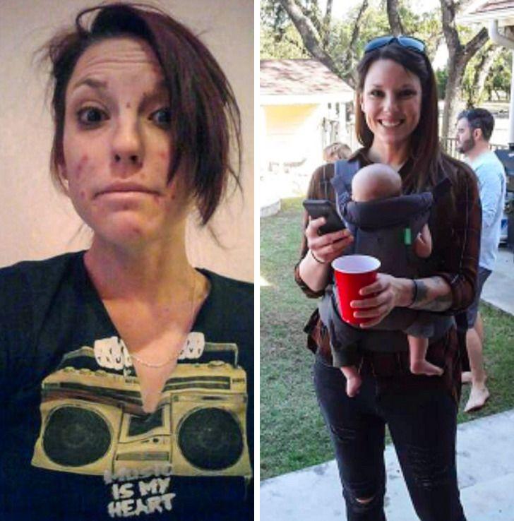 Imagens de antes e depois que mostram que nao devemos temer a passagem do tempo 23