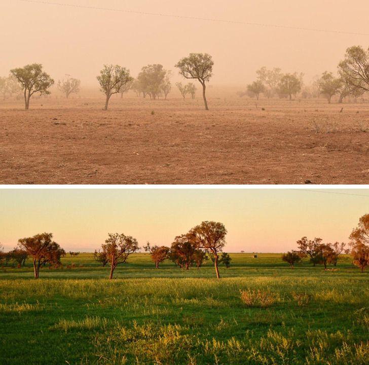 Imagens de antes e depois que mostram que nao devemos temer a passagem do tempo 32
