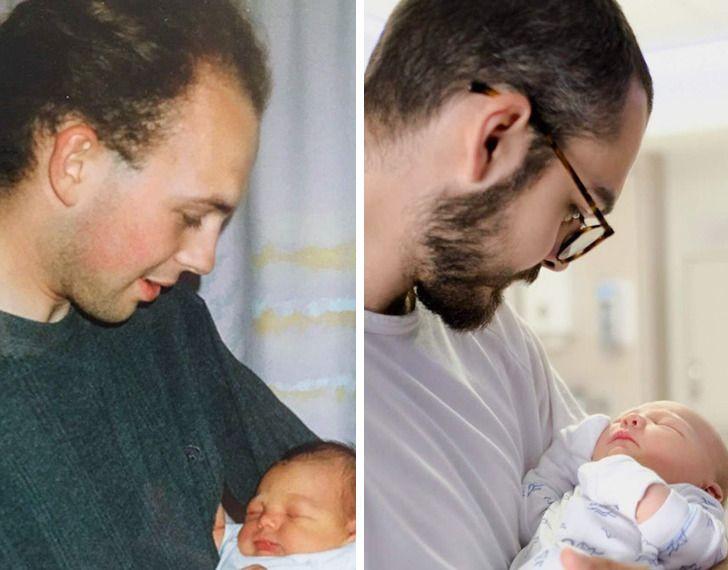 Imagens de antes e depois que mostram que nao devemos temer a passagem do tempo 33