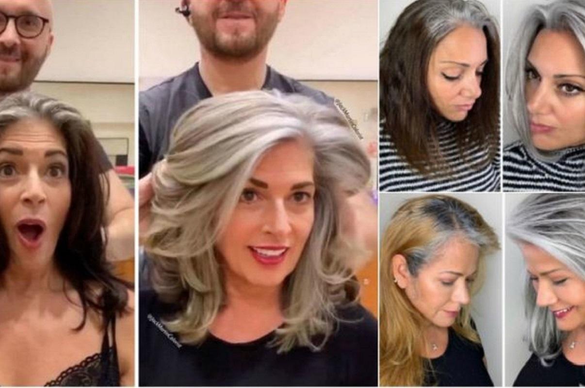 Jack Martin: cabeleireiro convence clientes a assumirem a beleza dos cabelos brancos
