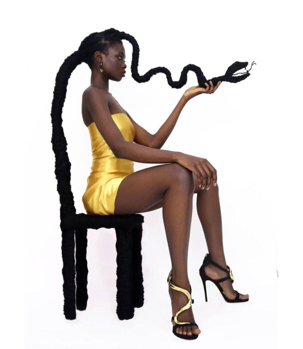 Laetitia Ky artista cria esculturas com o proprio cabelo e exalta beleza crespa 19