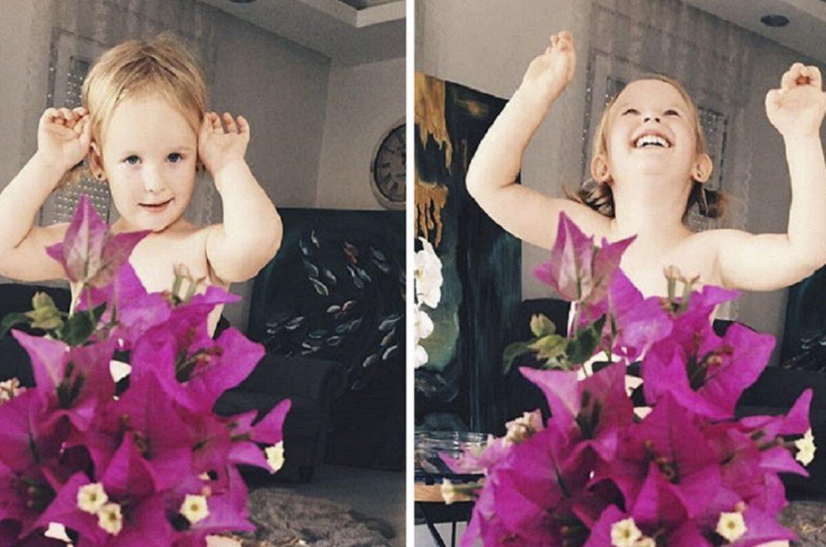 Mae veste filha com roupas de frutas 50