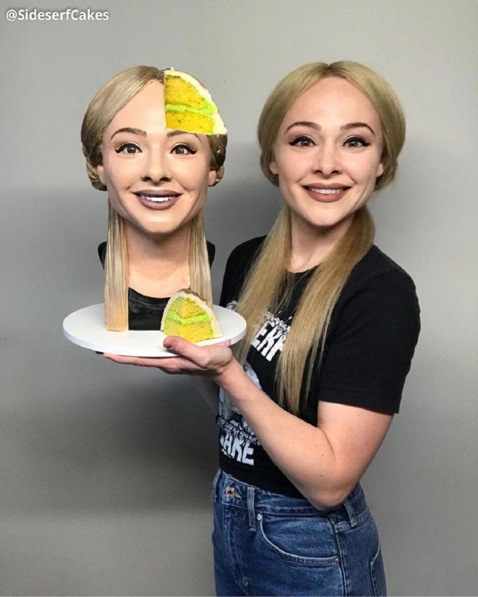 Natalie Sideserf confeiteira cria bolo selfie e surpreende 2