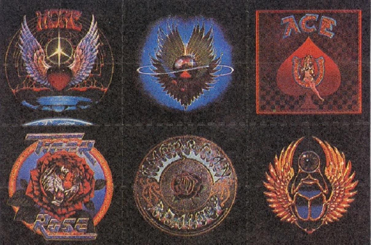Artes em cartelas de LSD