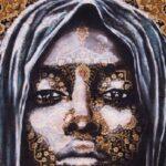 Mateo Wallpapers artista canadense transforma tapetes persas em lindos rostos de mulheres 4