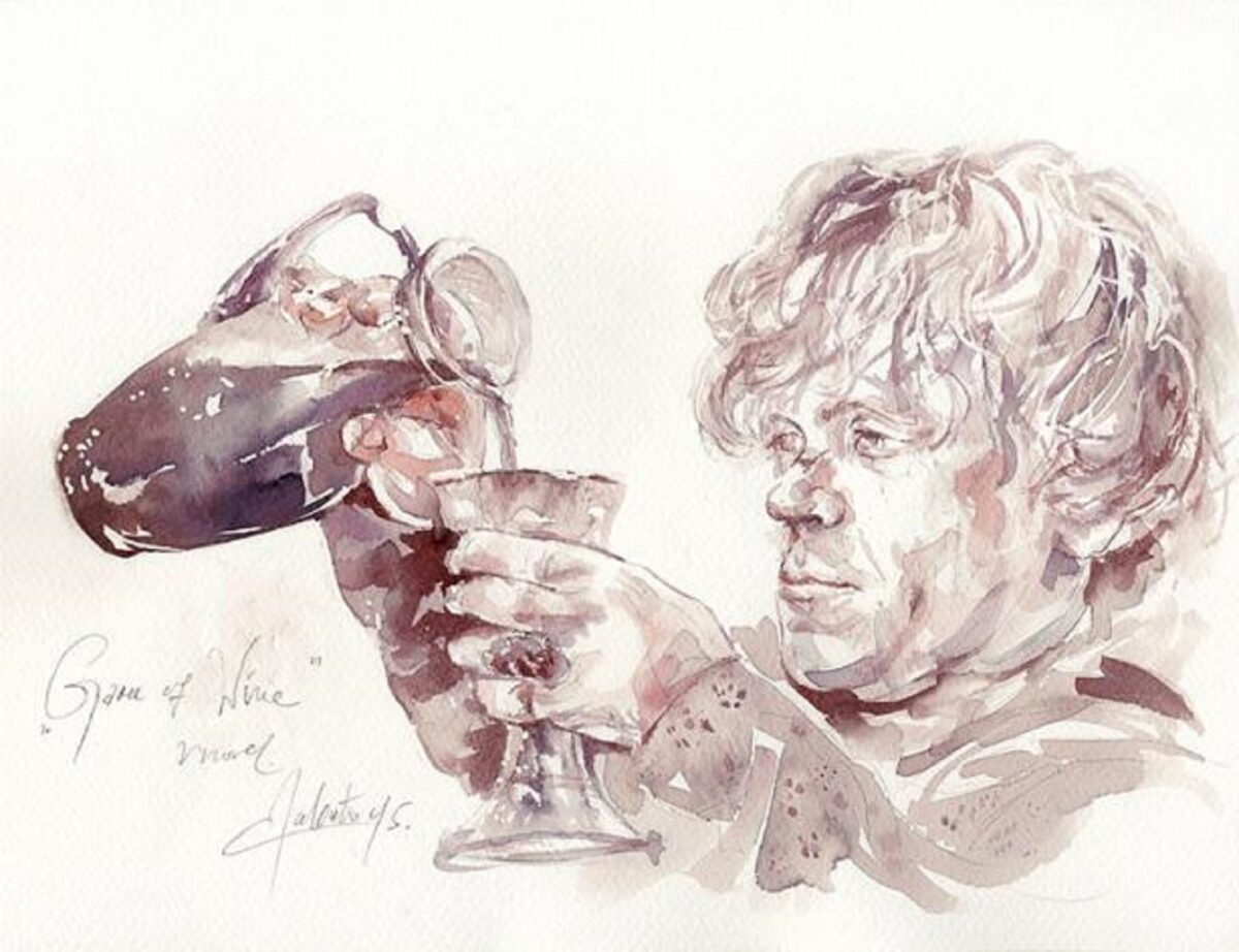 Winerelle a arte de pintar com vinho 12