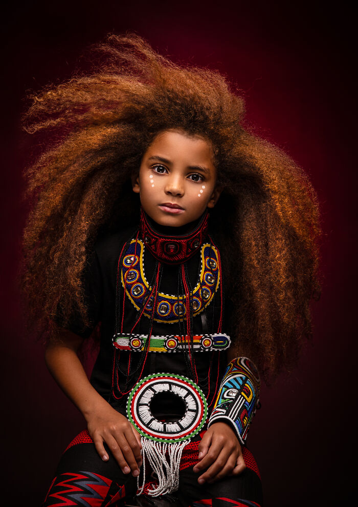 AfroArt serie em livro de fotografia mostra padroes de beleza de criancas negras 11