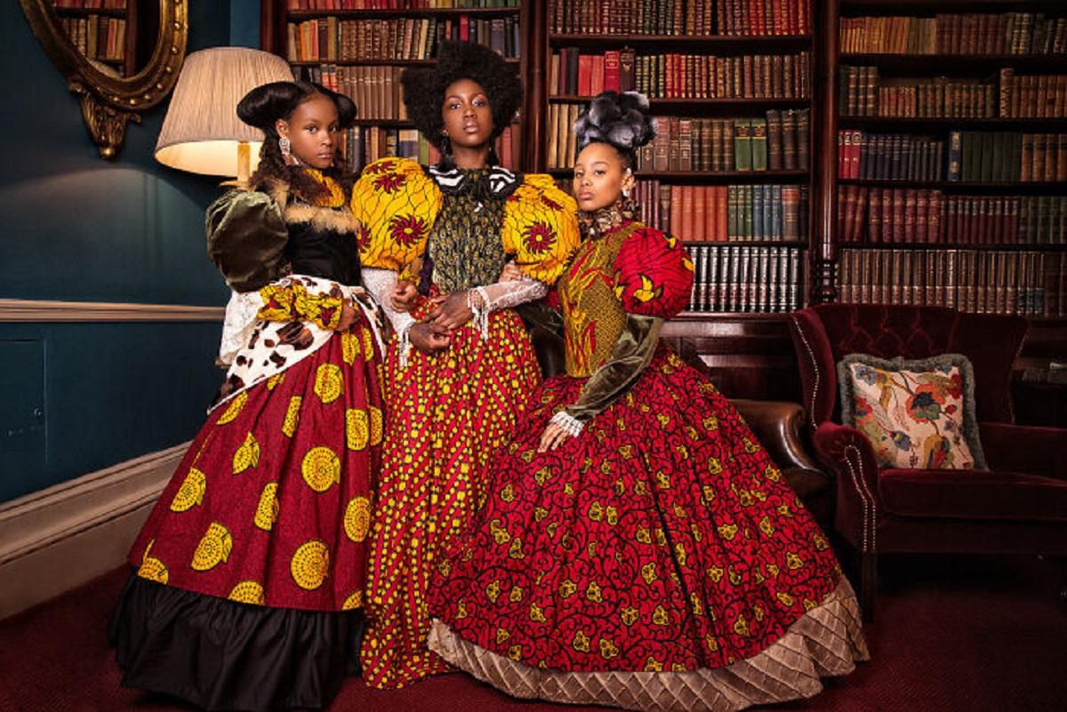 AfroArt serie em livro de fotografia mostra padroes de beleza de criancas negras 2
