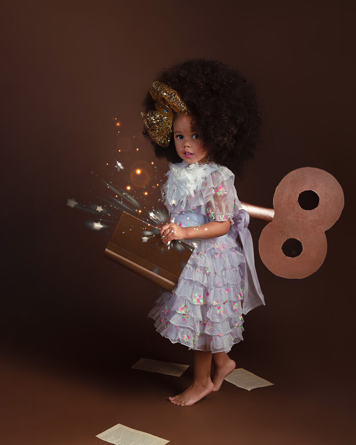 AfroArt serie em livro de fotografia mostra padroes de beleza de criancas negras 4
