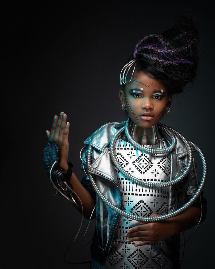 AfroArt serie em livro de fotografia mostra padroes de beleza de criancas negras 9