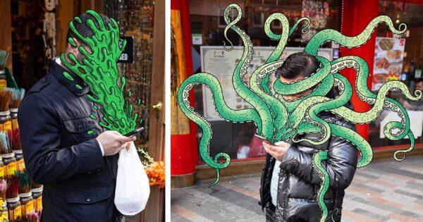 Andrew Rae artista cria ilustracoes de smartphones consumindo seus donos 50