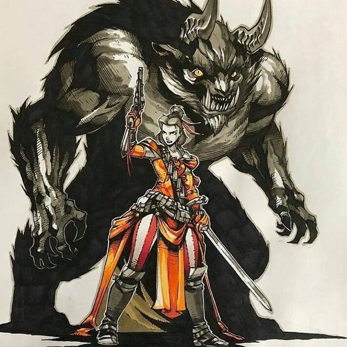 Artemii Myasnikov artista cria versao de Princesas Disney como personagens de RPG 2