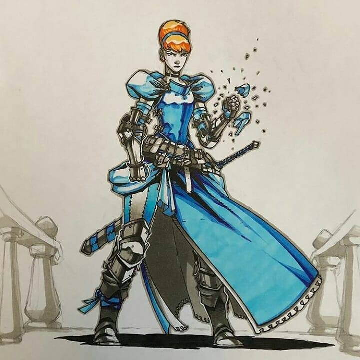 Artemii Myasnikov artista cria versao de Princesas Disney como personagens de RPG 4