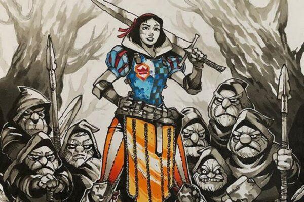 Artemii Myasnikov artista cria versao de Princesas Disney como personagens de RPG 50