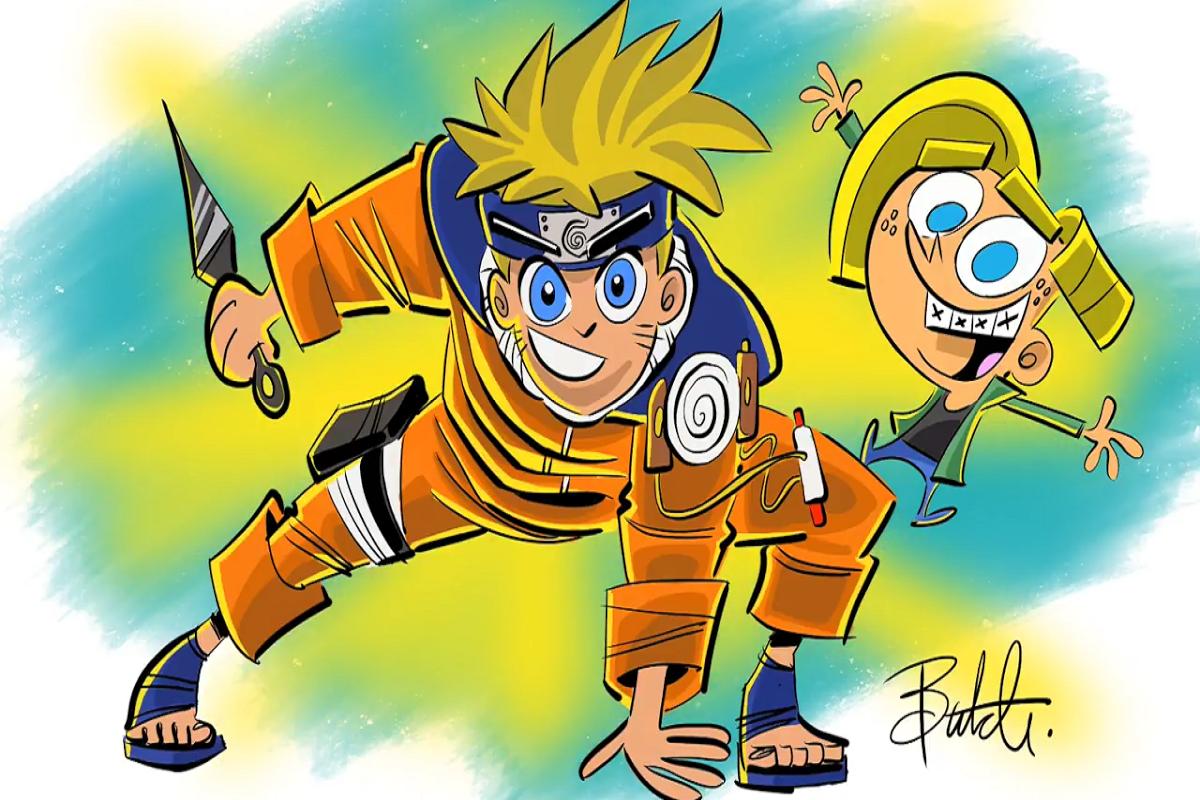 Butch Hartman: ilustrador recria personagens de anime no estilo de OS Padrinhos Mágicos