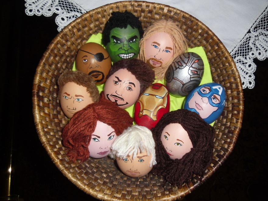 Celeggs ovos de pascoa com a cara das celebridades 2