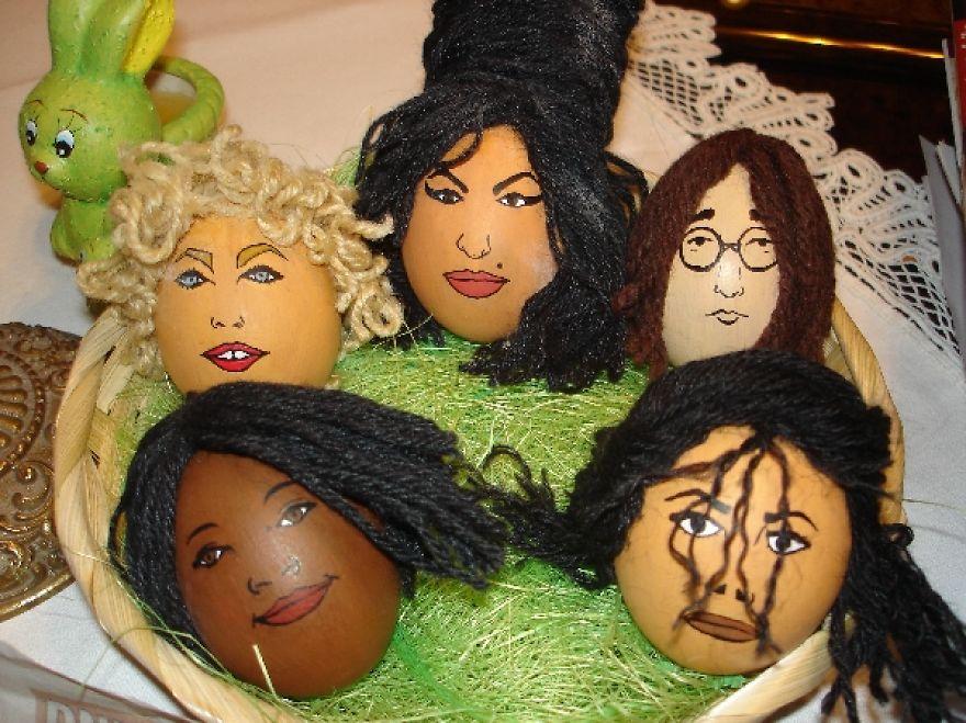 Celeggs ovos de pascoa com a cara das celebridades 9