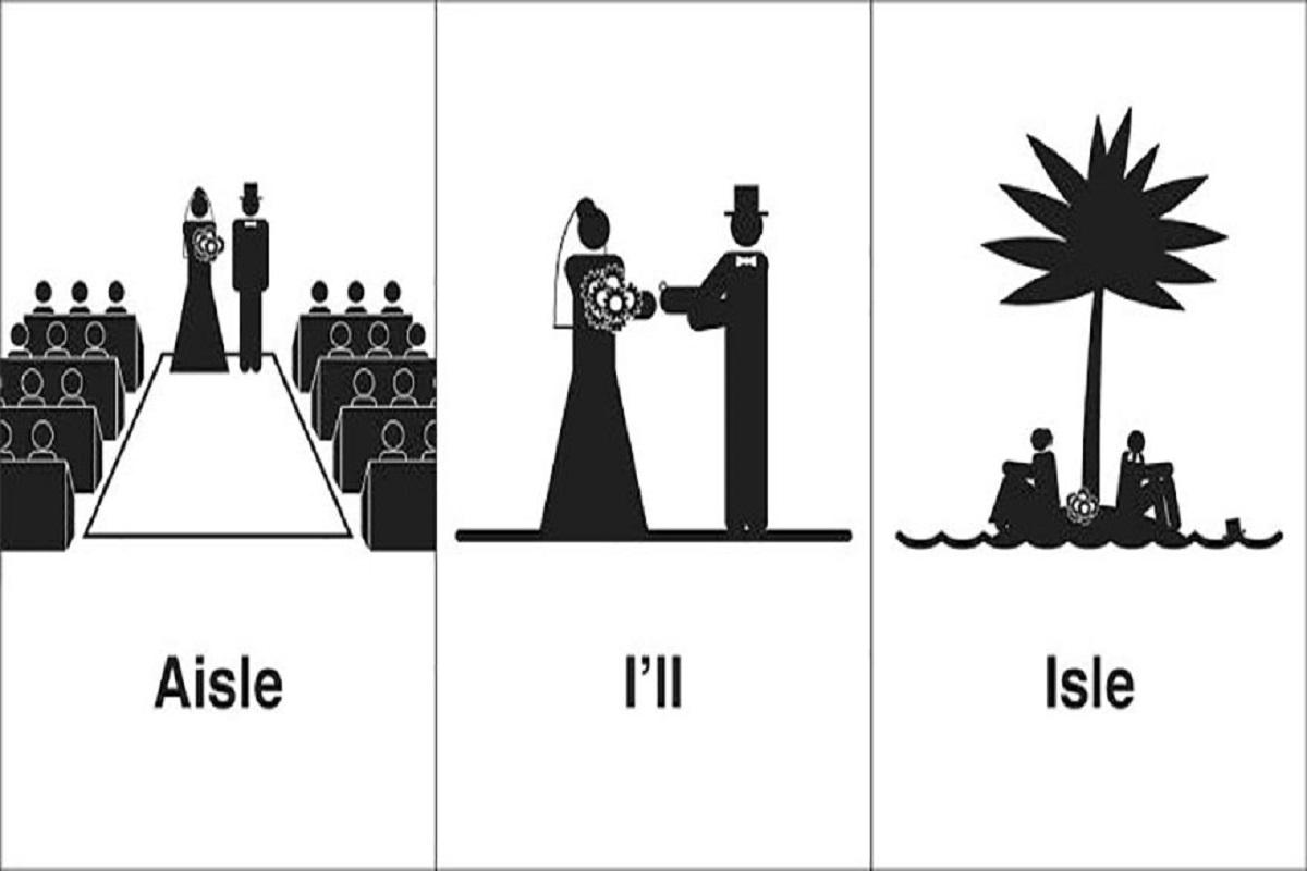 'Homophones, Weakly': projeto cria ilustrações com palavras homófonas