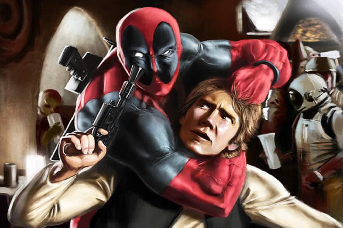 Jonathan Moore: artista cria ilustrações com crossover de personagens da Marvel e de Star Wars