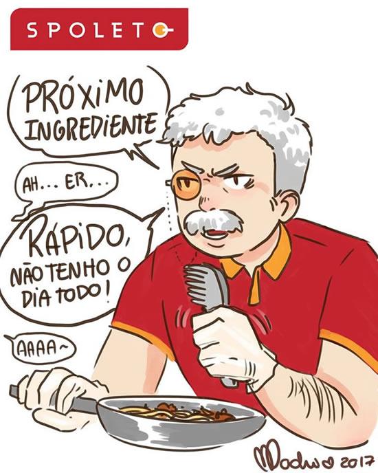 Lara Mochiron ilustracoes de comidas como se fossem pessoas criadas pela artista brasileira 6