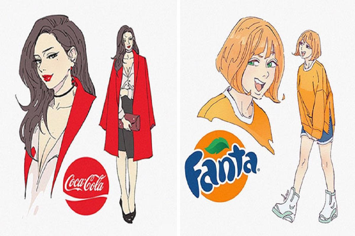 Sillvi designer coreano cria versao humana de refrigerantes e outras bebidas 1