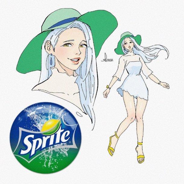 Sillvi designer coreano cria versao humana de refrigerantes e outras bebidas 3
