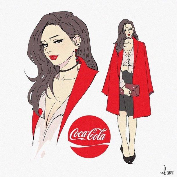 Sillvi designer coreano cria versao humana de refrigerantes e outras bebidas 4