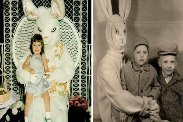 As melhores fotos de criancas com o coelhinho da Pascoa 50