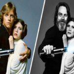 Antes e depois dos atores de Star Wars 50